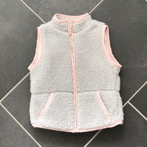 Carter's Fuzzy Vest